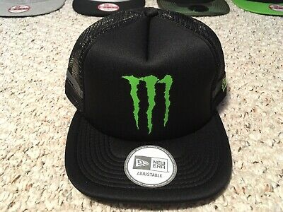MONSTER ENERGY HAT. New Era Athlete Only -  250.00  504accec0baa