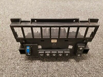 1248301885 Mercedes Benz Climate Control Unit With Push Button Assembly