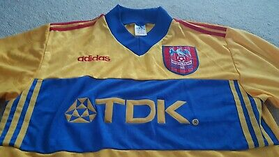 CRYSTAL PALACE 1997 98 Away Football Shirt Adidas (Adult - Large ... a8cbf9b4d