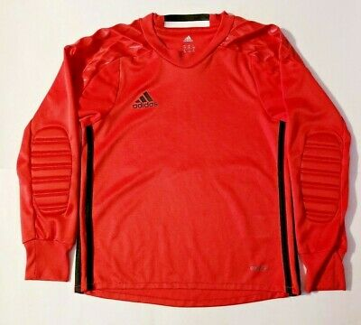 a3685d0c7 ADIDAS SOCCER YOUTH Onore 16 Kid Top Goalkeeping Jersey Bright Red XS 7-8 Y  -  29.99
