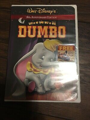 Dumbo (DVD, 2001, 60th Anniversary Edition) New and Sealed!