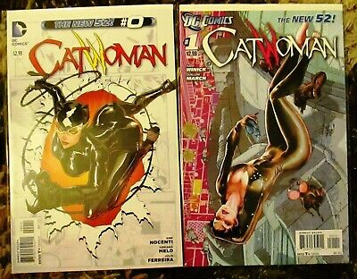 CATWOMAN 0 1 2 3 4 5 6 (New 52, volume 4, Batman, origin, Judd Winick) 2011