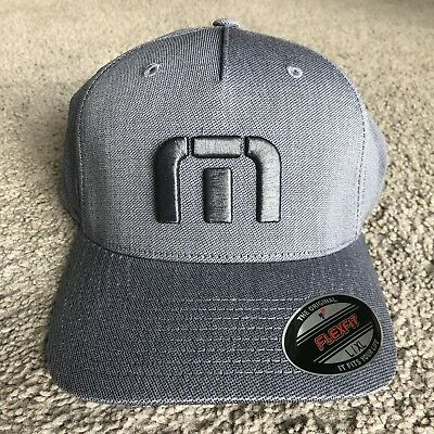 31d333ad3fc NEW TRAVIS MATHEW Van Dyke Golf Cap Heather Grey Large xl -  24.99 ...