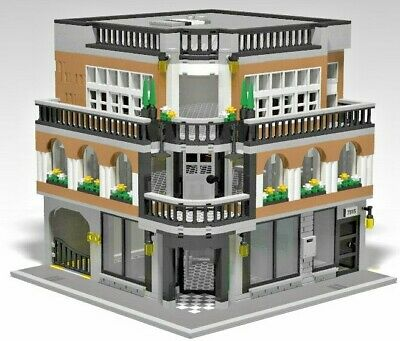 LEGO CUSTOM MODULAR Building - INSTRUCTIONS ONLY! - New Orleans Shop & Home