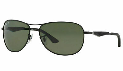5b8eed825e Ray Ban RB3519 006 9A Polarized Sunglasses Black Polarized Green Classic  G-15
