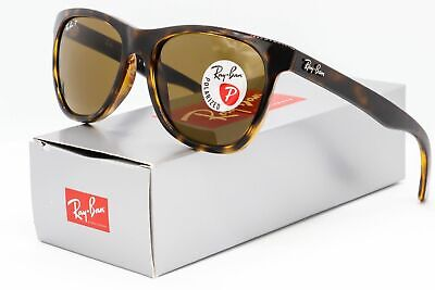 0376df0288 Ray Ban RB4184 710 83 Polarized Sunglasses Tortoise   Brown Classic