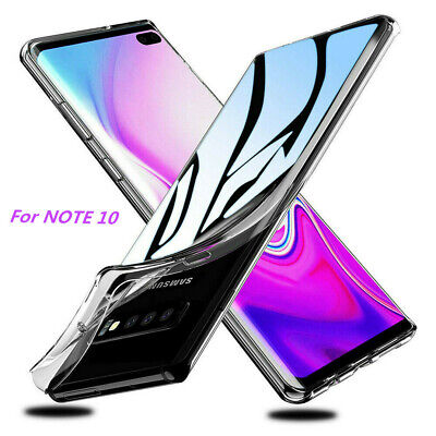 For Samsung S10 Plus Lite S8 S9 Note9 Ultra-thin Transparent Soft TPU Case Cover