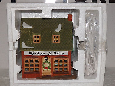 "Dept56 Dickens Village ""white Horse Bakery"" #5926-9"
