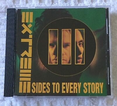 EXTREME - III SIDES TO EVERY STORY (CD: Tested and Plays Perfectly)