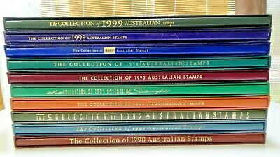The Collection of Australian Stamps Deluxe Album - 1990 to 1999 available