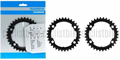 Shimano 105 FC-R7000 50T-MS /& 34T-MS Outer//Inner Chainrings Silver NIB