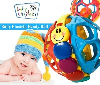 Baby Einstein Bendy Ball Rattles Activity Toys 3+ Months