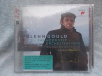 Glen Gould The Orchestic Registrations Works By Scriabin C.d.+ Cd Rom New Sealed