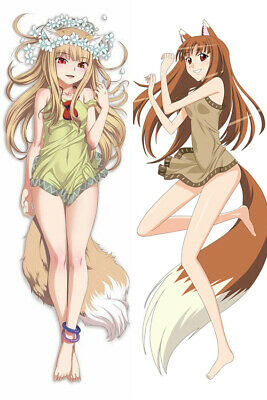 Wolf Holo Hugging Body Pillow