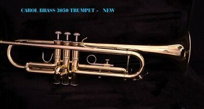 Brand New  CAROL BRASS MODEL 3050 TRUMPET Outfit