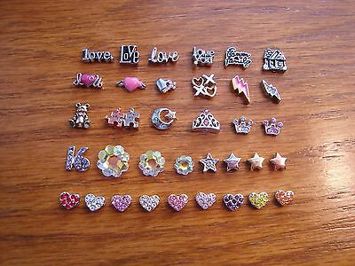"""Authentic Origami Owl """"Your Choice"""" of Charms - Love, Crystals & Hearts (#9) +>?"""