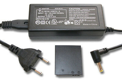 POWER SUPPLY MAIN CHARGER FOR Canon Digital Ixus 185, 190