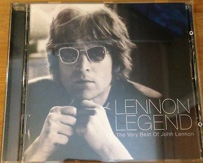 "John Lennon ""lennon Legend"" The Very Best Of John Lennon Beatles Apple 1997 Cd"