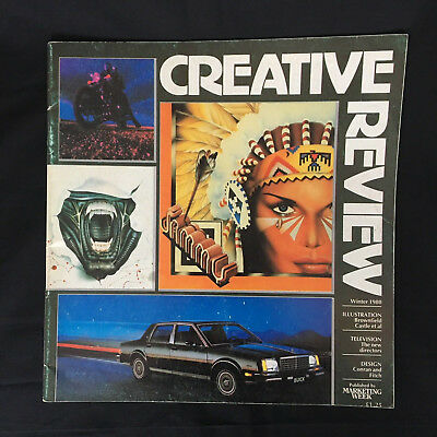Creative Review Magazine, Winter 1980, Vol. 1 No. 4