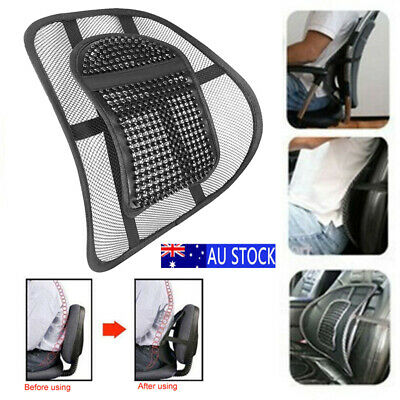 Lower Back Lumbar Support for Office Chair Car Seat Lumber Cushion Backrest Mesh