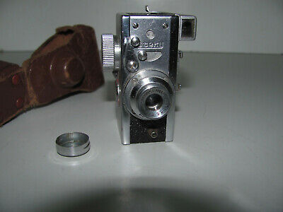 """Steky Model IIIb Subminiature Spy Camera Made In Japan by Asahi With Case """"WOW"""""""