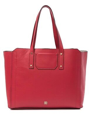 a4800678d644 Ivanka Trump Soho Solutions Work Tote Large Leather Shoulder Bag Red  295