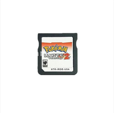 Pokemon: White Version 2 English DS 3DS Video Game Play Now