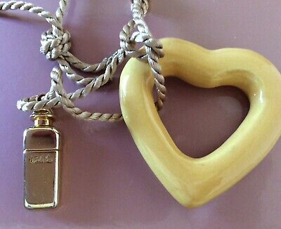 Hermes Caleche necklace (ceramic and gilded metall replica) vintage