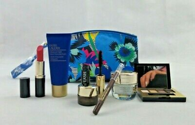 Estee-Lauder-SET-Holidays/Birthday/Party/FRENCH Cos-bag gift:DW+7pces