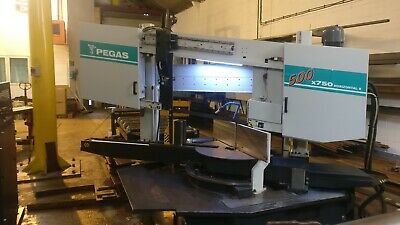 DOUBLE-COLUMN Bandsaw 500x750 Semiautomatic
