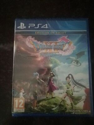 Dragon Quest XI 11 : Echoes Of An Elusive Age Edition Of Light PS4 neuf