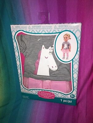 "Creatology 18"" Doll Clothing Outfit----American Girl----Unicorn Princess---*NEW*"