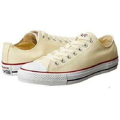 Converse Womens Shoes Size 6 Chuck Taylor All Star Core Ox Natural White M9165