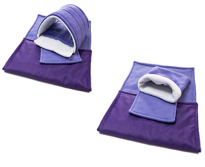 SET of Purple C&C and Ferplast cage liners (small)