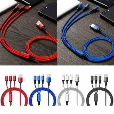 USB Charging Cable Universal 3 in 1 Multi-Function Cell Phone Charger Cord
