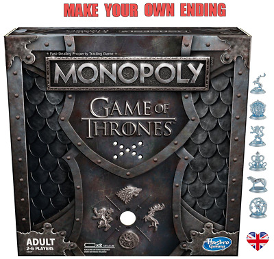 MONOPOLY GAME OF THRONES 2019 MUSICAL EDITION Plays GOT Theme Gift Idea *NEW*