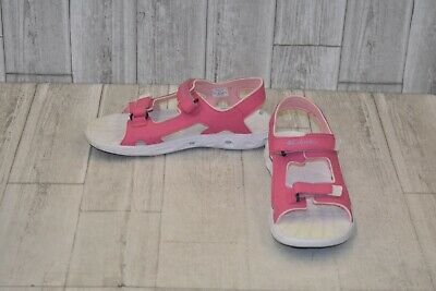 Columbia Girls Size 13 Youth Techsun Vent Sandals Grey Purple Shoes New
