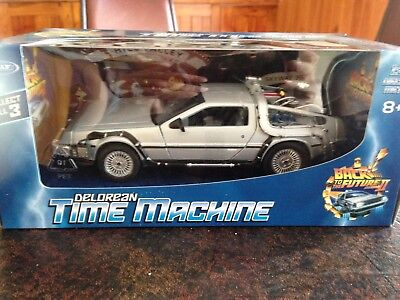 Welly Back To The Future Ii - Time Machine  - New