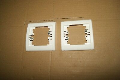 2 Plaques simple Enjoliveur  Opalis SAGANE LEGRAND Réf 85000