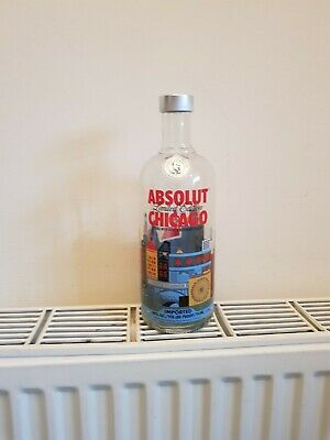 Absolut vodka chicago  limited edition