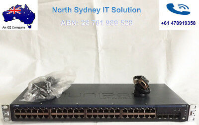 Juniper EX2200-48T-4G Gigabit Switch, 4 SFP Slots, 1 Year Warranty, Invoice