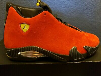 quality design c6e70 5cff7 New Nike Air Jordan Retro 14 Ferrari Size 11 DS 100% Authentic With Box