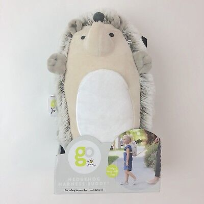 Goldbug Hedgehog Harness Buddy Toddler Safety Plush Backpack