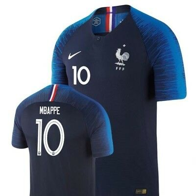 outlet store fbffa 1edf2 2018/19 WORLD CUP Nike France Football Shirt Kit Home 2 Stars size Medium  BNWT