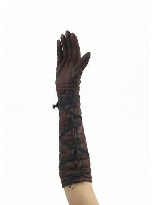 Medieval Fantasy Warrior Adult Costume Gloves