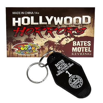 Bates Motel Keychain | Key Tag From The Movie Psycho | Horror Movie Collectible