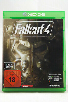 Fallout 4 (Microsoft Xbox One) Spiel in OVP, TOP, SEHR GUT