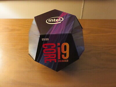 Intel Core i9-9900K Retail Box collector item Processor not included!