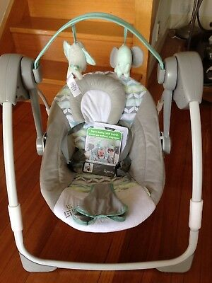 Ingenuity Baby portable swing - AS NEW