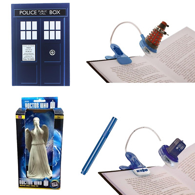 Doctor Who Stationary Set With Book Light, Stress Toy, Notebook And More